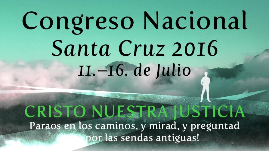 Congresso Nacional Sta. Cruz 2016
